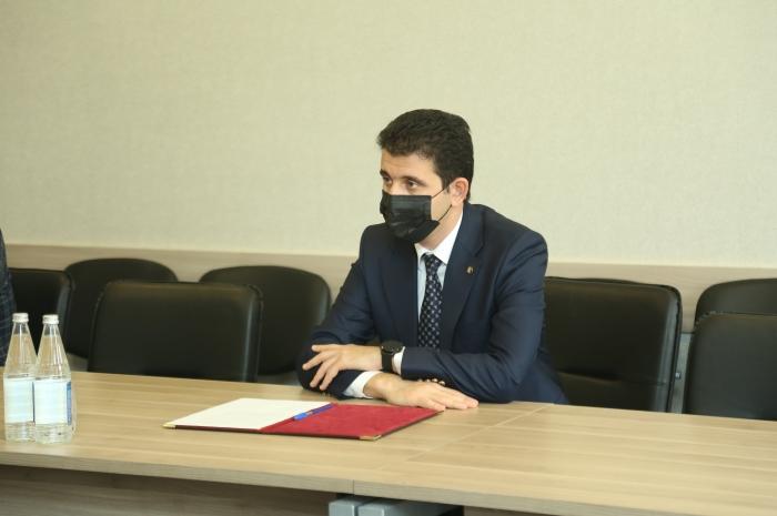 Milli Məclisin deputatı Naqif Həmzəyev növbəti dəfə seçiciləri ilə bir araya gəlib FOTO