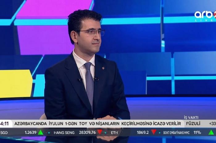 """Deputat Naqif Həmzəyev ARB24-də """"İş vaxtı"""" verilişində toylara icazə verilməsi barədə danışıb"""