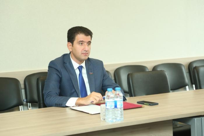 Milli Məclisin deputatı Naqif Həmzəyev növbəti dəfə vətəndaş qəbulu keçirib